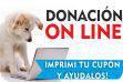 donaciones ON LINE